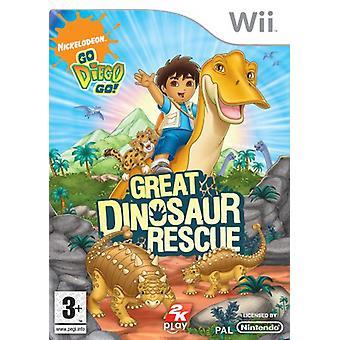 Go Diego Go! Great Dinosaur Rescue (Wii)