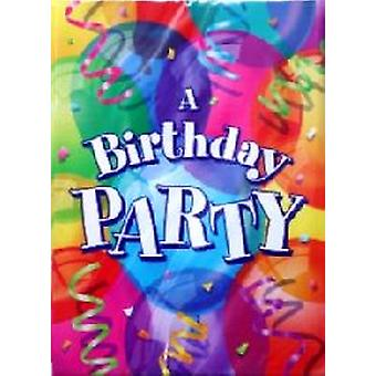 Invitaciones fiesta de cumpleaños genial.