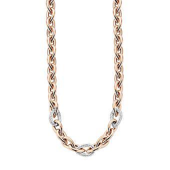 Orphelia Silver 925 halsketting Rose Drop vormige Links Zirc ZK-7161