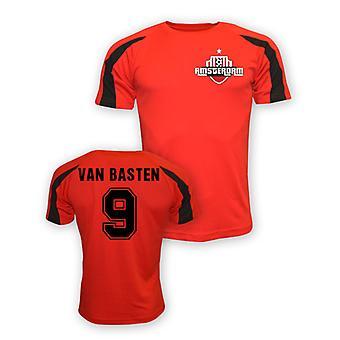 Marco Van Basten Ajax Sport Training Jersey (rood)