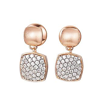 ESPRIT collection ladies earrings silver Rosé cubic zirconia ANTIGONE ELER92531B000