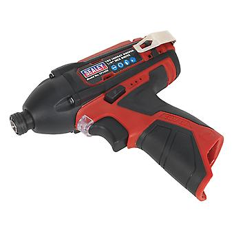 Sealey Cp1203 Impact Driver 12V 1/4 In Hex station 80Nm - Body Only
