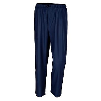 7970 BLU/M Beta Medium Trousers Waterproof Pvc Tricot Blue