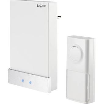 Sygonix 1417379 Trådløs dørklokke komplet sæt Batterifri