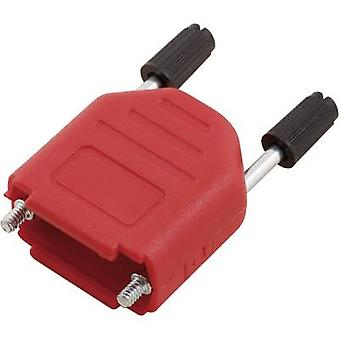 D-SUB housing Number of pins: 25 Plastic 180 ° Red