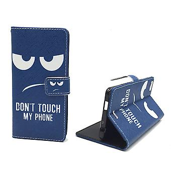 Handyhülle Tasche für Handy Wiko Highway Pure  Dont Touch my Phone