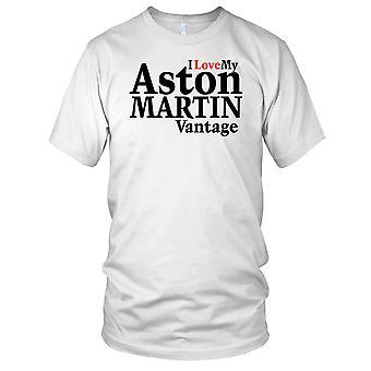 Jeg elsker min Aston Martin Vantage damer T skjorte