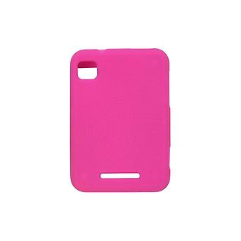 Wireless Solutions Silicone Gel Case for Motorola MB502 Charm - Watermelon