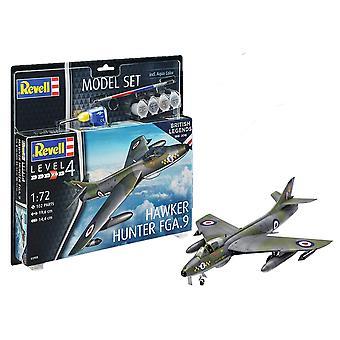 Revell 63908 100 años Royal Air Force: Hunter FGA.9 modelo