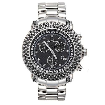 Joe Rodeo Diamant Herren Uhr - JUNIOR silber 6 ctw