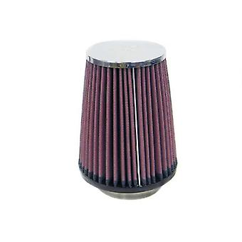 K&N RC-9310 Universal Clamp-On Air Filter: Round Tapered; 2.75 in (70 mm) Flange ID; 5.875 in (149 mm) Height; 4.75 in (