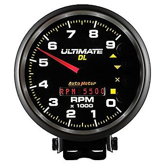 Auto Meter 6896 Ultimate DL Playback Tachometer