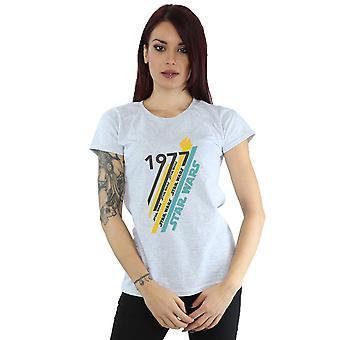 Stjärniga Wars kvinnors Retro 77 Stripes T-Shirt