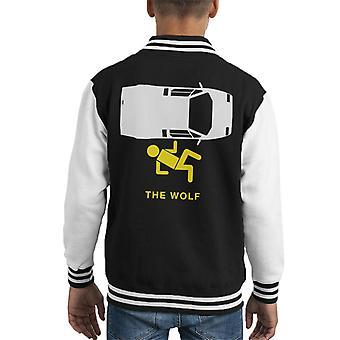 Wolf Of Wall Street MinimalKid's Varsity Jacket