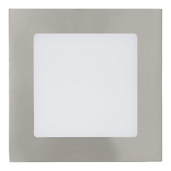 Eglo 5W LED Nickel versenkt Panel Wandleuchte, 120x120mm