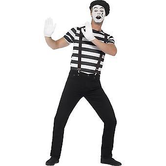 Smiffy's Gentleman Mime Artist Costume