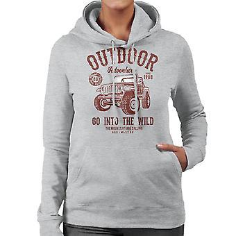 Outdoor avontuur gaan in het Wild Jeep Women's Hooded Sweatshirt