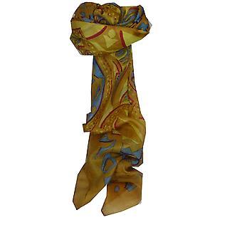 Mulberry Silk Contemporary Quadrat Schal Disai Karamell von Pashmina & Seide