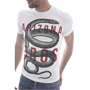 Tee Shirt Coton Printé S71gd0719 Serpent  -  Dsquared2