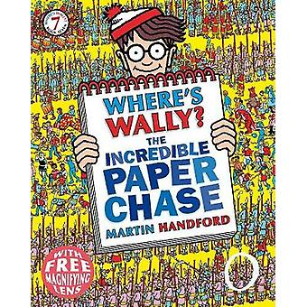 Where's Wally? The Incredible Paper Chase by Martin Handford - 978140
