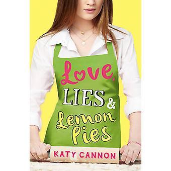 Amor - mentiras y tartas de limón por Katy Cannon - libro 9781847154897