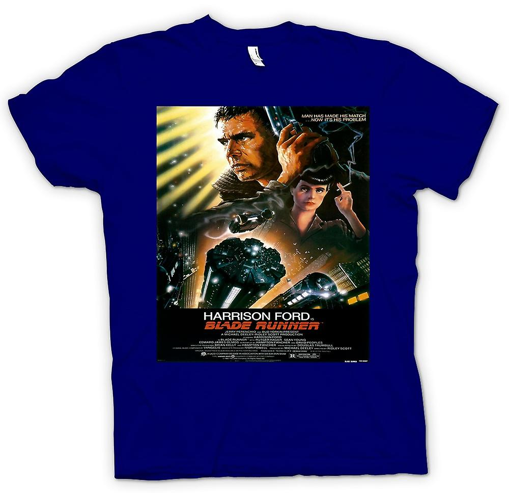 Mens T-shirt - Blade Runner - Sci Fi - Movie - Poster