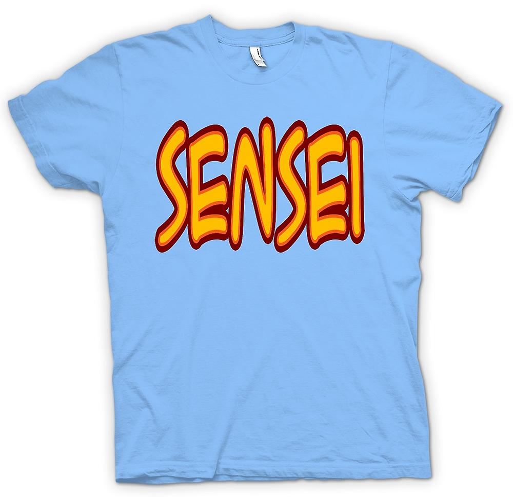 Heren T-shirt-Sensei - Martial Art - Slogan