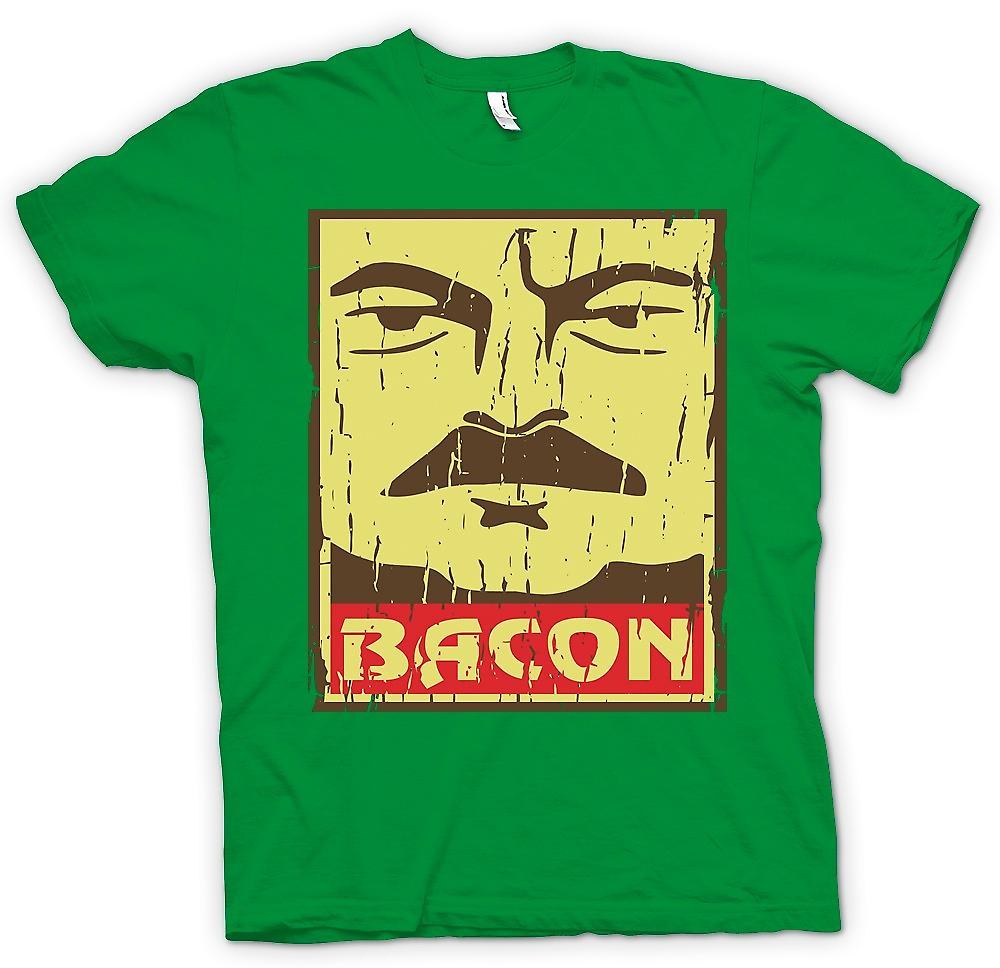 Mens t-skjorte - Bacon - Ron Swanson