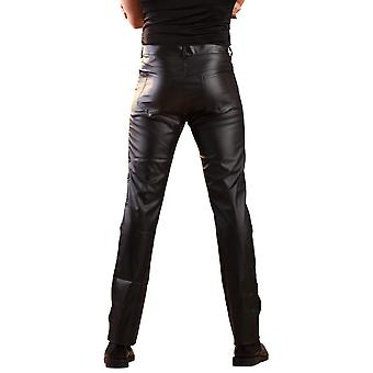 Honour Men's Cut Jeans Classic Style in Leatherette with Front & Back Pockets