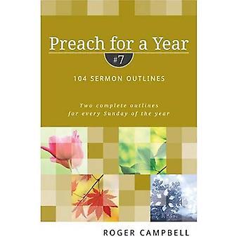 Predika ett år #7: 104 predikan konturer