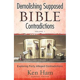 Demolishing Contradictions: Exploring Forty Alleged Contradictions