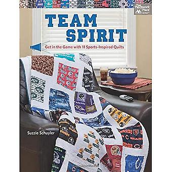 Team Spirit: Get in the Game with 11 Sports-Inspired Quilts