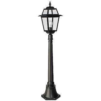 Perla staande lamp 116cm - zwart