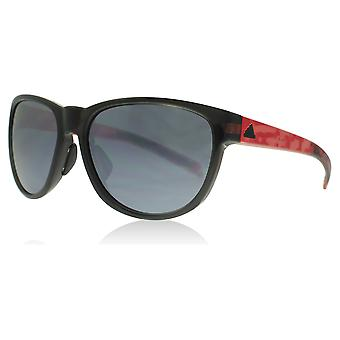 Adidas 425 6068 preto vermelho prata Wildcharge Praça óculos de sol lente categoria 2 lente espelhado tamanho 57mm
