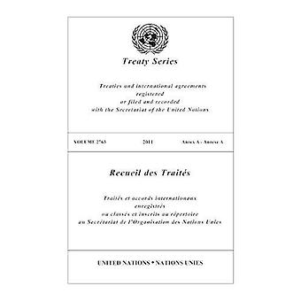 Treaty Series 2763 by United Nations - 9789219007352 Book