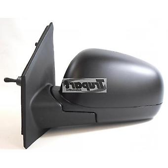 Left Passenger Wing Mirror (Manual) For Nissan NOTE 2006-2013