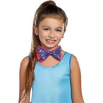 Dance Craze Child Bowtie Purpl