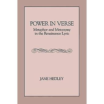 In Vers Metapher und Metonymie in der Renaissance-Lyrik von Hedley & Jane