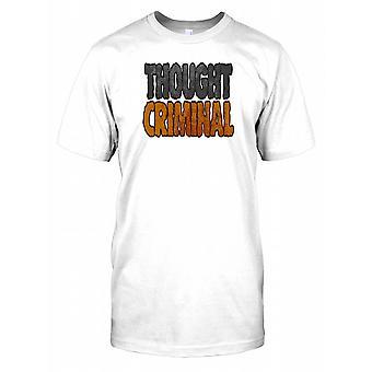 Trodde brottsling - roliga citat Mens T Shirt
