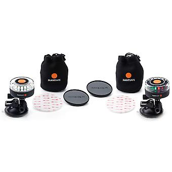 Navisafe Navilight Dual Kit S Portable Multifunction Navigation & Navigation/MOB Combo Light Kit