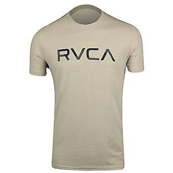 RVCA Mens Shade RVCA Mens T-Shirt - Warm Gray/Navy