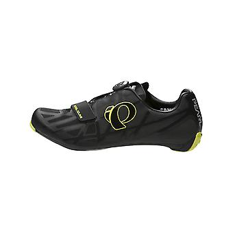 Pearl Izumi Black-Lime Punch Race Road IV Cycling Shoe