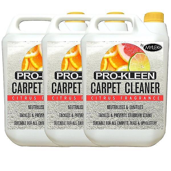 Mylek Upholstry Carpet Cleaning Solution | Citrus | 15 Litre