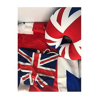 Union Jack Wear  Summer Holiday Pack - Union Jack - Swimming Trunks, Towel, Neck Cushion