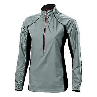 Breath Thermo Hyper Wind Top Dark Slate/Black Womens