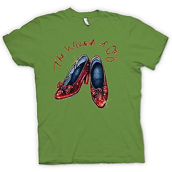 Womens T-shirt - Dorothy Red Shoes - Zauberer von Oz