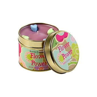 Bomb Cosmetics Tinned Candle - Flower Power