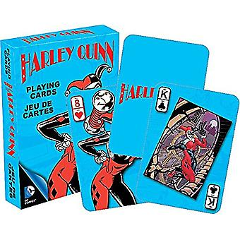 DC Comics Harley Quinn set of playing cards (turquiose box version)    -nm-