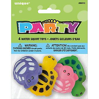 Party Favor Assorted 4/Pkg-Turtle Water Squirt Toy 86512