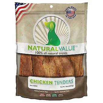 Natural Value Treats 16oz-Chicken Tenders LP8050